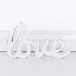 12x6.75x1 wd cutout (LOVE) wh