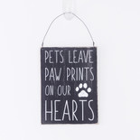 5x7x.25 hanging wood sign (PRNTS HRTS) bk/wh