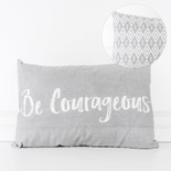 19x13 pillow (BE CRGS) gy/wh