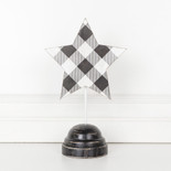 7x12x2 wd pedestal (STAR) bk/wh