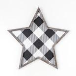20x20x1.5 wd frmd star wh/bk
