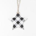 5x5x.5 wd orn (STAR) bk/wh