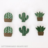 1.75x1.75x.25 wd shapes s/6 (CACTUS) gn/bn