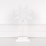 5x10x.5 wd cutout on base (DAISY) wh