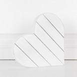 8.5x8.5x1.25 wd shiplap (HEART) wh