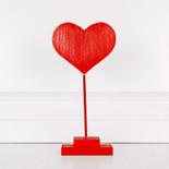 6x12x1.5 wd cutout on stnd (HEART) rd