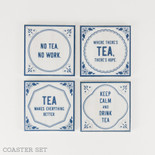 4x4x.25 coaster s/4 (TEA) wh/bl