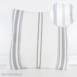 24x24 linen plw (STRIPES) wh/bl/gy