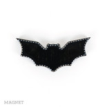 4x2x.5 wd magnet (BAT) bk/wh
