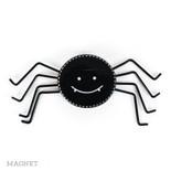 4x2x.5 wd magnet (SPIDER) bk/wh