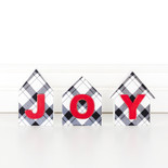 9.25x4.5 wd cutout hses (JOY) bk/rd/wh