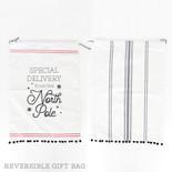 17x24 rvrsbl linen drwstrg bag (NRTH POLE) wh/bk/rd