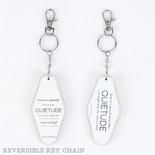 1.7x3.5x.5 rvs wd keychain (QTDE) wh/bk