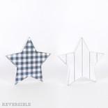 9.5x9x1.5 rvsbl wd shplp cutout (STAR) wh/bl