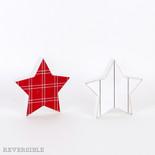 5.25x5x1.5 rvsbl wd shplp cutout (STAR) wh/rd