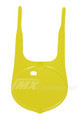 Front Number Plate 79-80 RM Satin Suzuki Yellow
