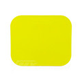 Number Plate Rectangular Yellow 285 x 240mm