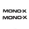 "Yamaha Swing Arm Decal ""MONO-X"" 1982"