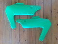 Side Panels 1982 Kawasaki KDX250 In Green