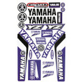 YAMAHA YZ STICKER KIT SIZE: 565mm x 355mm BLUE