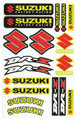 SUZUKI DRZ STICKER KIT SIZE: 565mm x 355mm
