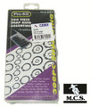 SNAP RING KIT ASSORTED (300 PIECES/KIT)