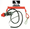 KILL SWITCH W/ LANYARD (DEAD MAN SWITCH) FOR USE ON MAGNETO IGNITION