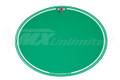 Number Plate Decal Maico Oval Green