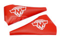 Lever Covers Red with Maico Logo