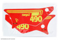 "Side Panel Decal Set 81 Maico ""Mega 490"""