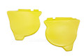 Side Panel Set 76 YZ125C Yellow