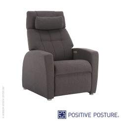 Positive Posture Luma Fabric True Zero Gravity Recliner Tall