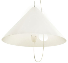 Tango Lighting Buco Pendant Light in White - Open Box