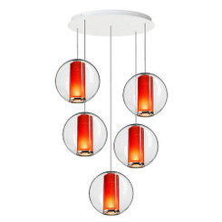 Pablo Designs Bel Occhio 5-Light Chandelier