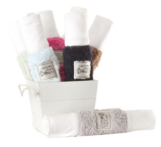 Chenille Burp Cloth - We carry most colors