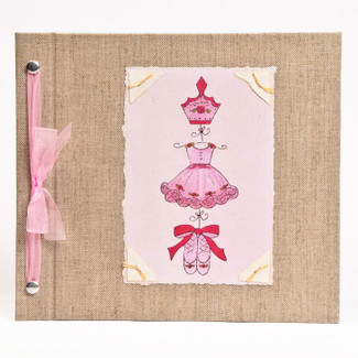 Ballet Baby Memory Book Cover