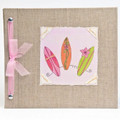 Surfer Girl Baby Memory Book
