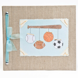 Sports Baby Memory Book
