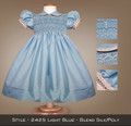 Spring Formal Light Blue Blend Silk/Poly 2425