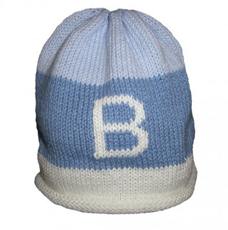 Blue Rugby Personalized Knit Hat