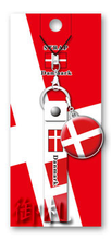 Flags of the World Rubber Strap - Denmark
