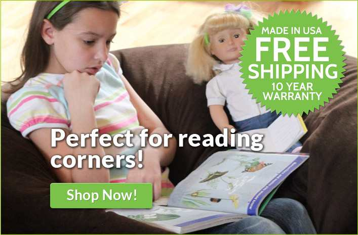 Perfect for reading corners!
