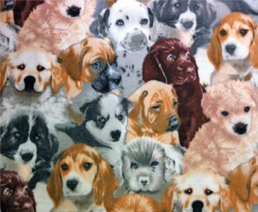 Puppies Fleece