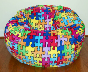 "37"" Puzzle Anti-Pill Fleece"