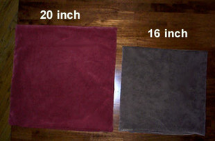 20 inches versus 16 inches