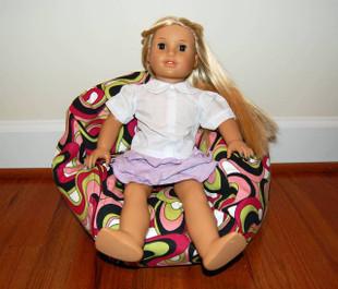 "14"" wide Doll Avocado"