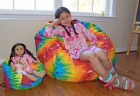 "14"" LiL Me Matching Doll Bean Bag & 37"""