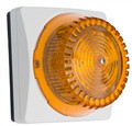 ALGO 1128A Analog LED Strobe Light Amber, Part No# 1128A