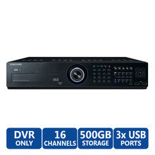 SAMSUNG SRD-1670DC-500 16CH Premium DVR, Part No# SRD-1670DC-500