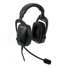 PLANTRONICS SHR2083-01 Ruggedized Circumaural Headset, Part No# 92083-01